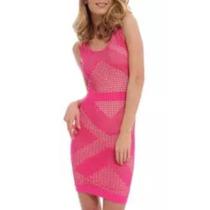 Sexy Mini Vestido Marca Bebe Stretch Talla M Fashion