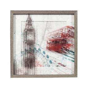 Cuadro Decorativo Londres Decoracion Minimalista Bm Home