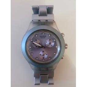 b1eb5865d44 Relogio Swatch Irony Diaphane Patented Feminino - Relógios De Pulso ...