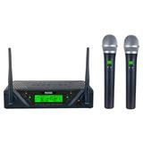 Microfono Inalambrico Dobles Uhf Envios Gratis