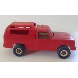 Antigua Camioneta Con Cupula Plastico Rodar Decada 70