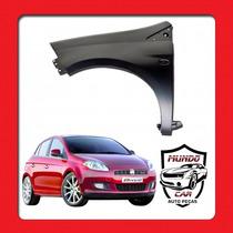 Paralama Fiat Bravo 2012 13 14 15 16 Lado Esquerdo Novo