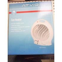 Calefactor Con Ventilador Electrico 2 Niveles 1500w Atvio