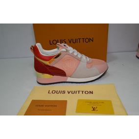 Tenis Louis Vuitton Run Away Rosas Meses Sin Intereses