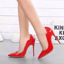 Sapato De Salto Alto Twisee Scarpin - Importados