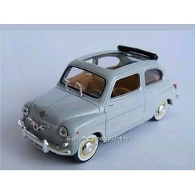 Fiat 600 Escala 1 /43 Color Gris