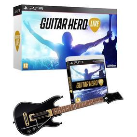 Guitarra Guitar Hero Live Ps3 Original Novo Lacrado