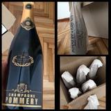 Champagne Pommey Etiqueta Negra - Venta Por Mayor! Caja X6u.