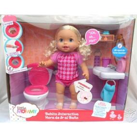 Little Momy Bebita Interactiva Hora De Ir Al Baño