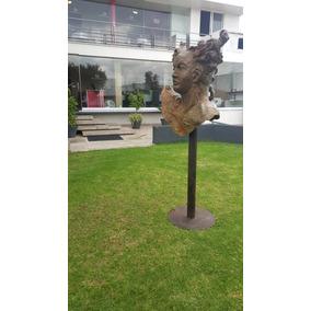Javier Marin Escultura Monumental En Bronce Busto Vii