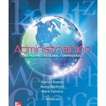 Administración - Una Perspectiva Global Y Empresarial Pdf