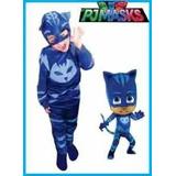 Disfraz De Pj Mask Catboy Gekko Y Owlette 15% Off