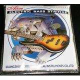 Cuerdas Bajo Electrico Alice 4 Cuerdas 045