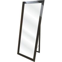 Espejo Moderno Con Pie 150x50 Marco Madera 4.5 Cm (tapa Mdf)