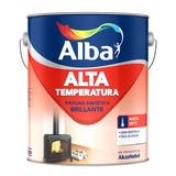 Esmalte Alta Temperatura Aluminio 1 Lt - Pisano
