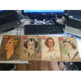 Lote 5 Revistas Espanholas Gran Mundo Ilustrado Década 50