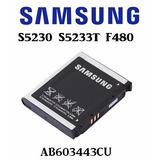Bateria Samsung S5230 S5233 F480l Ab603443cu