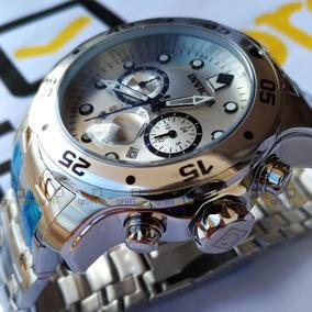 Relógio Invicta Pro Diver 0071 Prata Original Aço Inox 48mm