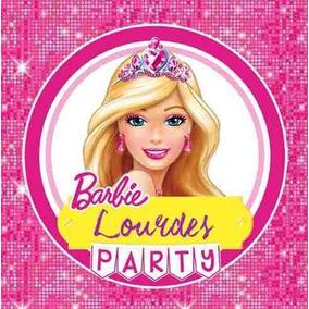 Kit Imprimible Barbie Candy Bar Invitaciones Deco 2x1