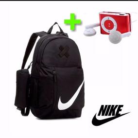 Mochila Con Lapicera Nike Elemental 100% Original + Colores