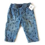 Pantalon Babucha Jean Talle 6 Meses - Oshkosh Original