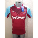 Jersey Playera West Ham United Local 2018 Chicharito Hammers