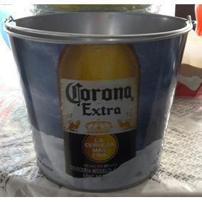 Cubeta De Lamina Con Imagen De Cerveza Modelo O Pacifico