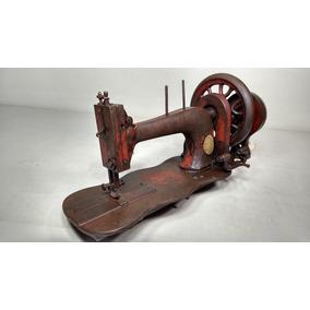 Antiga De Máquina De Costura Sewing Manual Manivela Retro