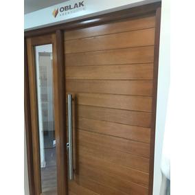 Portada Puerta + 1 Lateral Oblak 2331 Madera Grandis Maciza