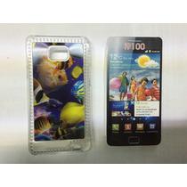 Funda 3d Celular Samsung Galaxy S2 I9100 Peces