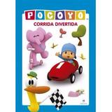 Pocoyo Corrida Divertida - Livro Travesseiro