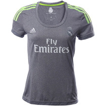 Playera Visitante Real Madrid 15/16 Mujer Adidas S12628