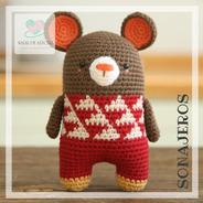 Sonajero Ratón Crochet - Tienda Nariz De Azúcar