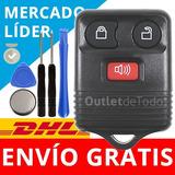 Carcasa Control Remoto Ford Lobo Fiesta Ecosport Ranger 3bt