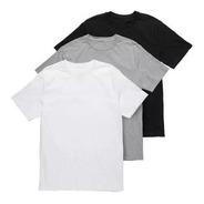 Kit Com 3 Camiseta Masculina Algodão Básica Camisa Polo Fish