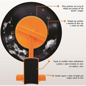 Kit De Limpeza Para Disco De Vinil Vil Cleaner Er Pires Novo