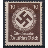 Alemania Estampilla Del Tercer Reich 1934