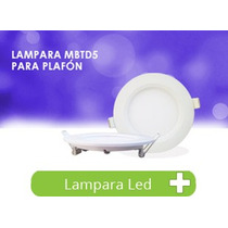 Panel Led Slim Empotrable Techo Spot 5w Lampara Foco Bf