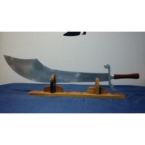 Espada Arabe Com Cabo De Pau Brasil