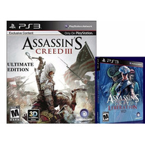 Assassins Creed Iii Ultimate + Ac Liberation Ps3 Psn
