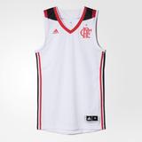 Camiseta Regata Flamengo Basquete Branca 2017