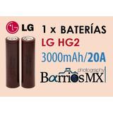 Lg Hg2 18650 Bateria Li-ion 3000mah 20a
