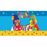 Painel Festa Infantil Patati Patata Tecido Banner 1 X 0,70