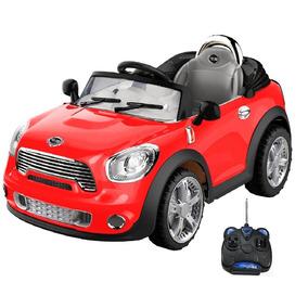 Mini Cooper Elétrico Veículo Infantil 2x1 C. Remoto 912300
