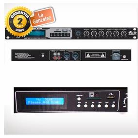 Reproductor Gbr Control 5 Usb Mp3 Mixer Mic Sd Consola Fm