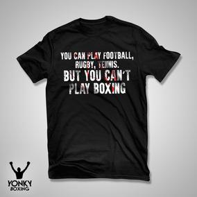 Remera Algodón Boxeo Frase