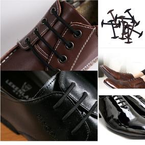 1 Par De Cordones De Silicona Marrón Para Zapatos Clásicos