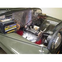 2feltro Metalizado Alumínio Parede Corta Fogo Cofre Do Motor