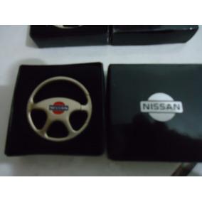 Chaveiro Volante De Metal Nissan,livina,march,sentra,versa