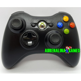 Controle Xbox 360 Original Microsoft - Sem Fio - Seminovo